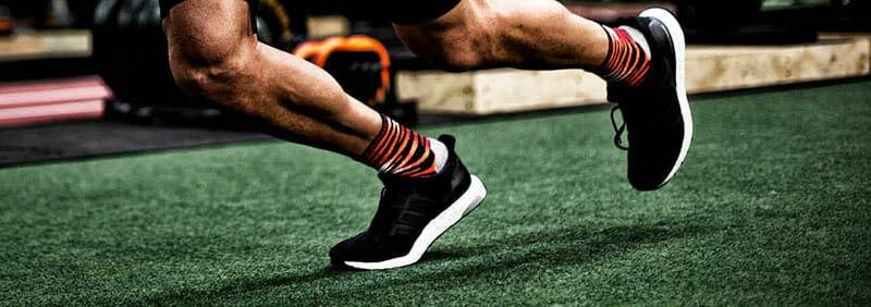 Runner wearing Lightfeet Socks