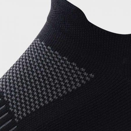 Lightfeet Elevate Sock in Black: Detail