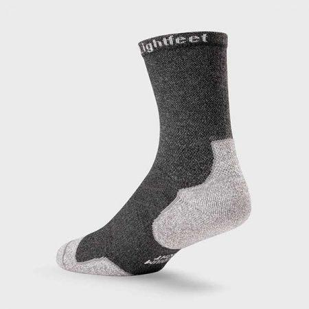 Lightfeet Trail Half Crew Sock in Dark Grey