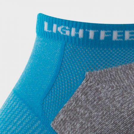 Lightfeet Genesis Sock in Aqua: detail
