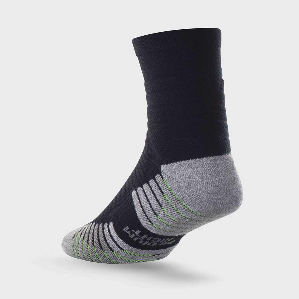 Lightfeet Vector Half Crew Sock In Black