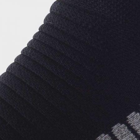 Lightfeet Vector Half Crew Sock in Black: detail
