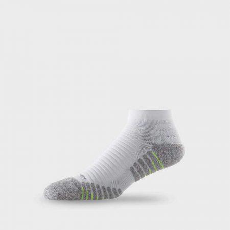 Lightfeet Vector Mini Crew Sock in White