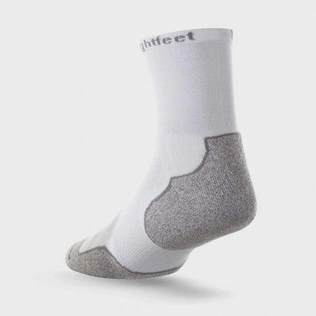 Lightfeet Evolution Half Crew Sock in White