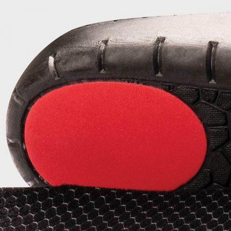 Heel detail of Lightfeet Slimfit Insole