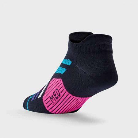 Elevate Mini Sock in Blue, Pink and Aqua